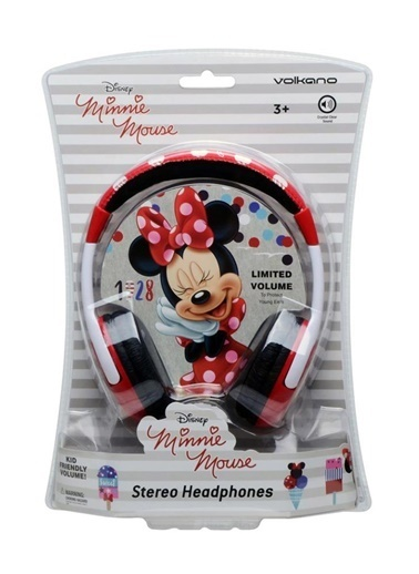 Volkano Disney Minnie Mouse Mini Fare Çocuk Kulaklığı Lisanslı DY-13301-MM Renkli